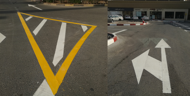 Middle East Road Marking